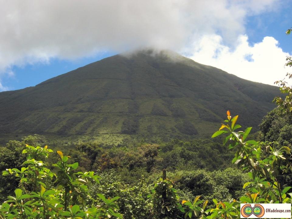 La Soufrière en Guadeloupe