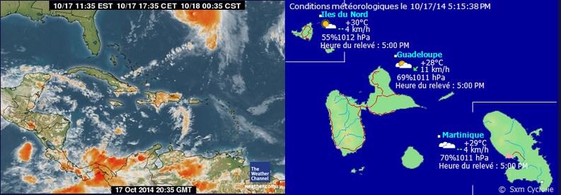 SXM Cyclone ouragan gonzalo